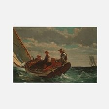 Winslow Homer - Breezing Up (A Fair Wind) Rectangl