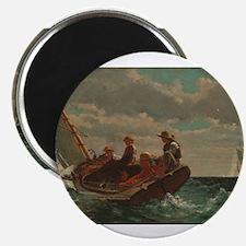 Winslow Homer - Breezing Up (A Fair Wind) Magnet