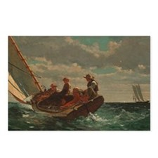 Winslow Homer - Breezing Up (A Fair Wind) Postcard