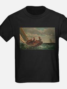 Winslow Homer - Breezing Up (A Fair Wind) T-Shirt