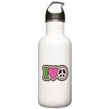 I HEART PEACE Water Bottle