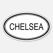 Chelsea Oval Design Oval Decal