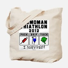2012 Chemoman Triathlon Tote Bag