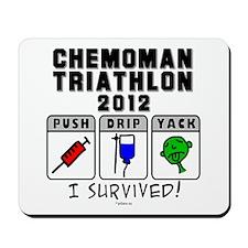 2012 Chemoman Triathlon Mousepad