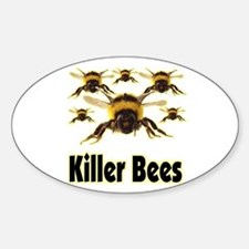 Killer Bees - 1 Sticker (Oval)