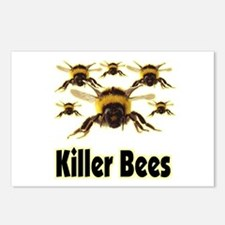 Killer Bees - 1 Postcards (Package of 8)