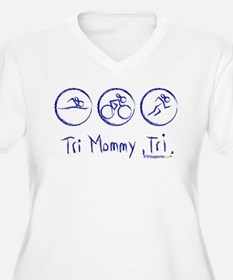 2-tri_mommy Plus Size T-Shirt