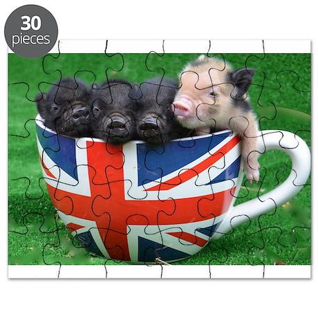 Tea Cup Piggies Puzzle
