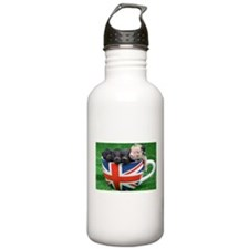 Tea Cup Piggies Sports Water Bottle