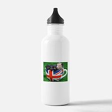 Tea Cup Piggies Sports Water Bottle