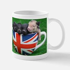 Tea Cup Piggies Small Mug