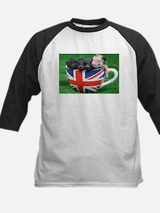 Tea Cup Piggies Baseball Jersey