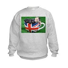 Tea Cup Piggies Sweatshirt