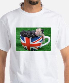 Tea Cup Piggies T-Shirt