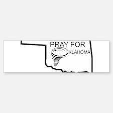 PRAY FOR OKLAHOMA Bumper Bumper Bumper Sticker