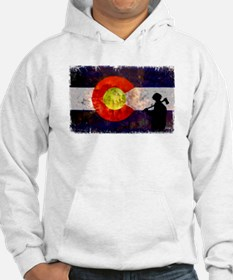 Firefighter Colorado Flag Hoodie