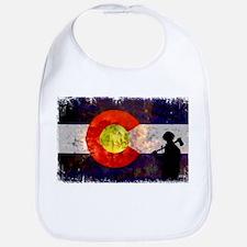 Firefighter Colorado Flag Bib