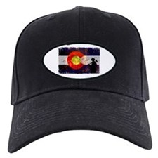 Firefighter Colorado Flag Baseball Hat