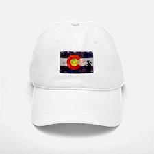 Firefighter Colorado Flag Baseball Baseball Cap