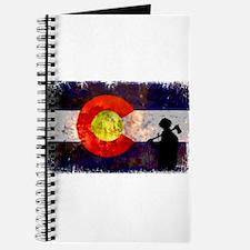 Firefighter Colorado Flag Journal
