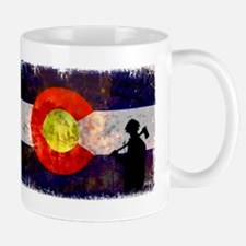 Firefighter Colorado Flag Mug