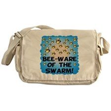 Bee-Ware Of The Swarm Messenger Bag