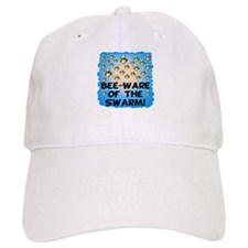 Bee-Ware Of The Swarm Baseball Cap