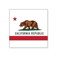 Vector California Republic Sticker