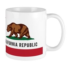 Vector California Republic Small Mug
