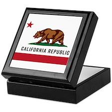 Vector California Republic Keepsake Box