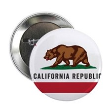 "Vector California Republic 2.25"" Button"