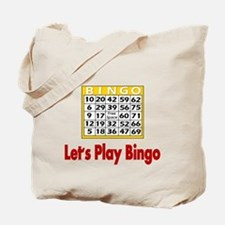 Lets play Bingo Tote Bag