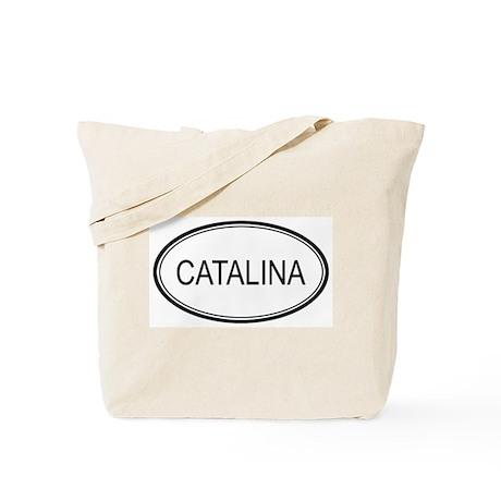 Catalina Oval Design Tote Bag