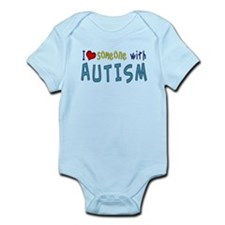 I love someone with Autism Body Suit