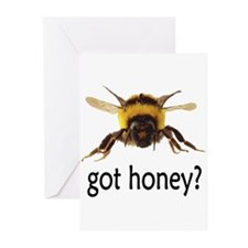 got honey? Greeting Cards (Pk of 20)