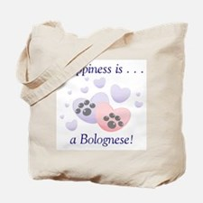 Happiness is...a Bolognese Tote Bag