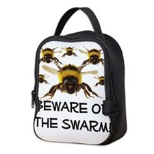 Beware Of The Swarm Neoprene Lunch Bag