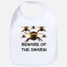 Beware Of The Swarm Bib