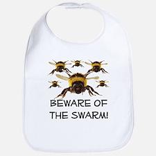 Beware Of The Swarm Bib