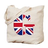 British monogram Totes & Shopping Bags