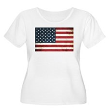 Old Glory Plus Size T-Shirt