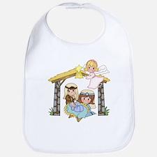 Childrens Nativity Bib