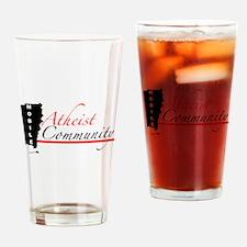 Full Logo Drinking Glass