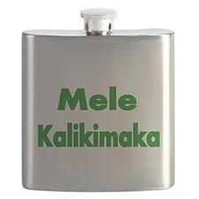 Mele Kalikimaka Flask