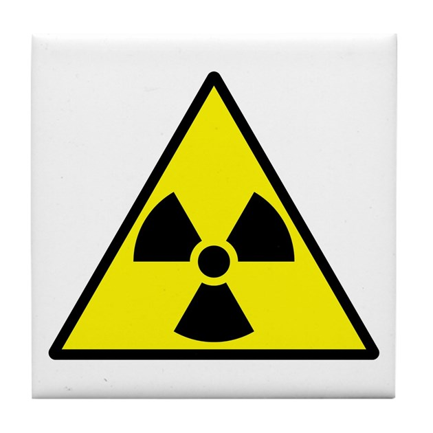 Radioactive tile coaster by atlantianking radioactive - Radioactive coasters ...