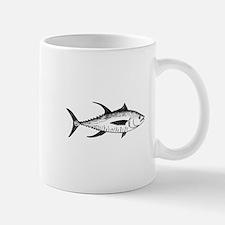 Yellowfin Tuna Logo (line art) Mug