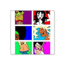 Cult Cinema Queens Sticker