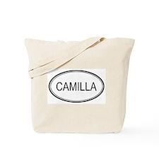 Camilla Oval Design Tote Bag