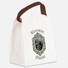 Baroque Obama Canvas Lunch Bag