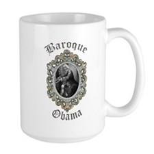 Baroque Obama Mug